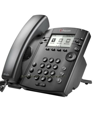 Polycom VVX 300 IP Phone 2201-46135-025 VVX300 POE