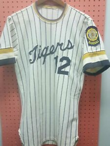 Vintage-American-Legion-Baseball-Jersey-Tigers-Red-Fox-Athletic-Goods-sz-38