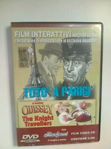 DVD-TOTO-039-A-PARIGI-CON-CD-DI-MANIPOLAZIONE-INOLTRE-ODYSSEY-THE-KNIGHT-TRAVELLERS