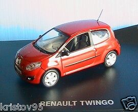 NOUVELLE RENAULT TWINGO 2 DYNAMIQUE red VIF 2007 1 43 NOREV 7711421886 RED red