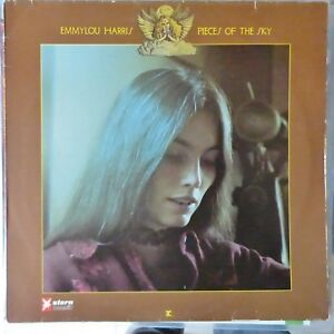 EMMYLOU-HARRIS-LP-PIECES-OF-THE-SKY-GERMANY-REISSUE-VG-VG