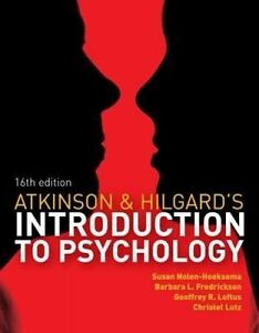 Atkinson hilgards introduction to psychology with coursemate stock photo fandeluxe Image collections
