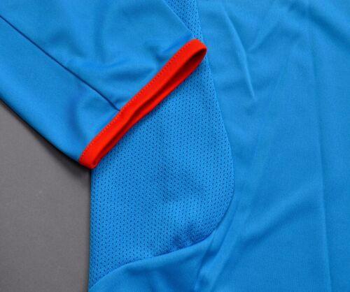 Adidas Russia Athletic Longsleeve Herren T-Shirt langarm Russland Laufshirt blau