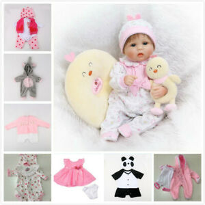 16-034-Newborn-Baby-Clothes-Alive-Reborn-Doll-Baby-Girl-Clothes-NOT-Included-Doll