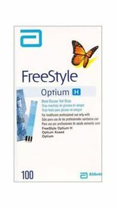 Details about Abbott Freestyle Optium H 100 Test Strips New Stock Long  Expiry Free Shipping