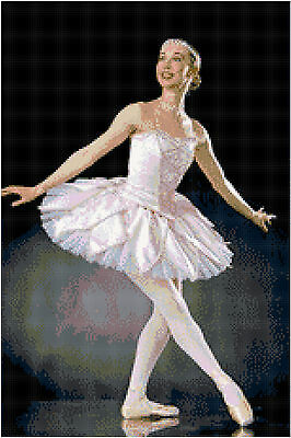 Ballerina 14 Count Cross Stitch Kit