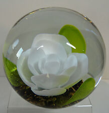 Selkirk Glass Peace Paperweight Ltd Ed. Boxed Cert. 1987