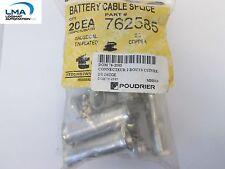 20x Ta Techspan 762585 Battery Cable Splice Copper Connector 20 New