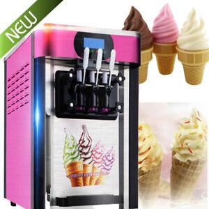 Commercial Soft Serve Ice Cream Machine Frozen Yogurt ...