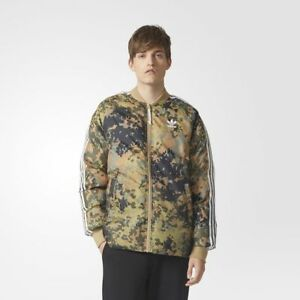 casual shoes info for meet Details about Adidas Men's Pharrell Williams Hu Hiking Camo SST Reversible  Jacket / CY7867
