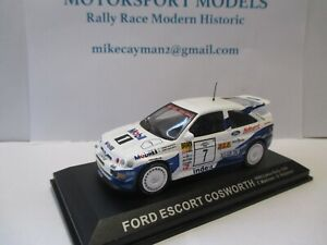 FORD-ESCORT-COSWORTH-rally-car-model-1000-Lakes-Rally-1994-T-Makinen-S-Harjanne