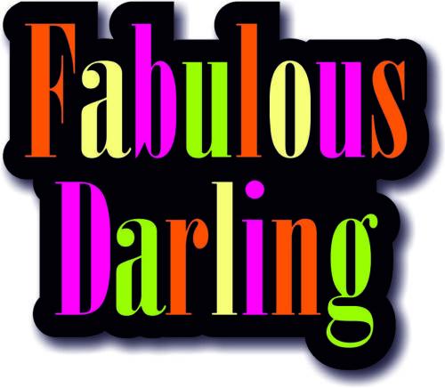 #WordProps Large FABULOUS DARLING