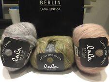 WOLLSCHMIEDE 107 Lana Grossa lala BERLIN LOVELY FINE TWEED Fb