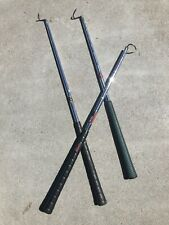 Circle J Fab Hand Forged Wrought Iron Long Spoon BBQ Outdoor Grill Tool SBS