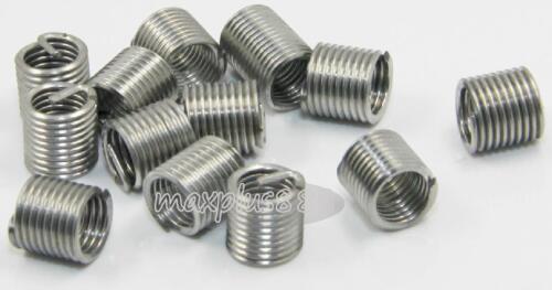 New10pcs M10*1.5 2.5D insert length 304 Stainless Steel Screw Thread insert