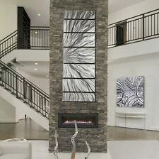 Statements2000 Abstract 3D Metal Wall Art Sculpture Silver Painting Jon Allen