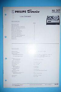 Service Manual-anleitung Für Philips N 4307 original Diversifizierte Neueste Designs Anleitungen & Schaltbilder