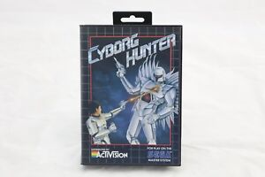 Cyborg Hunter Sega Master System Game and Box Only NO MANUAL INCLUDED