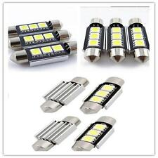 White 36MM 3 LED 5050 SMD Car Reading Interior License Plate Light Lamp Bulb SI9
