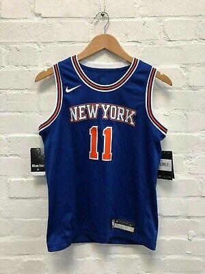 Size 10-12 yrs Medium Junior NIKE NBA PORZINGIS New York Knicks Swingman Jersey