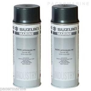Suzuki Spray Paint California Grey 800ml Metallic 2 Stroke