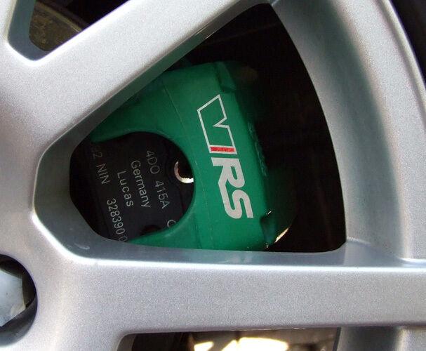 SKODA VRS Brake Caliper Calliper Decals Stickers Octavia Fabia