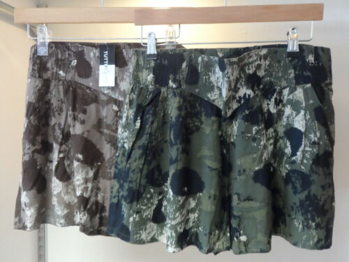 NEW 2 PACK WOMAN/'S LADIES VERY LIGHTWEIGHT SUMMER HOLIDAY SHORTS-SUMMER BARGAIN!