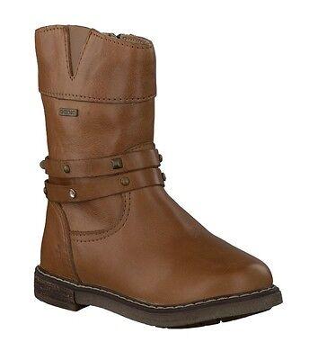 Dettagli su GEOX J8449A AGATA scarpe donna ragazza bambina stivali stivaletti pelle anfibi
