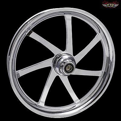 "Harley Davidson 21"" inch Custom Front Wheel ""The Agitator"" by FTD Customs"