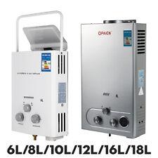 6L/8L/10L/12L/16L/18L LPG Gas Propane Instant Tankless Hot Water Heater Boiler