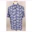 NAT NAST Men's SILK Blend Short Sleeve Casual Shirt