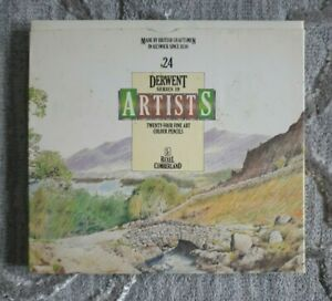 Vintage Rexel Cumberland Derwent Artists Series 19 Pencils (24 Coloured Pencils)
