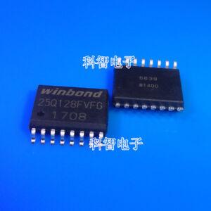 30PCS 128M-bit Serial Flash Memory W25Q128FVSG 25Q128FVSG SOP8 200MIL BRAND NEW