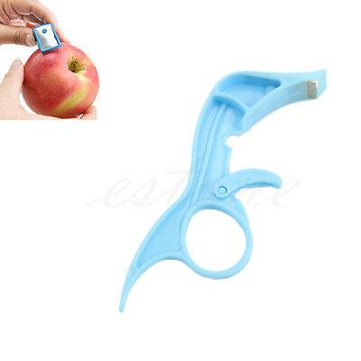 Portable Fruit Vegetable Safety Peeler Parer For Apple Pear Carrot Potato New