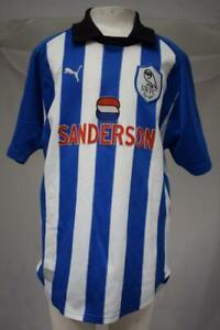 Boys-RARE-Vintage-Sheffield-Wednesday-Football-Shirt-1999-Chest-30-32-039-039-Lot-T9