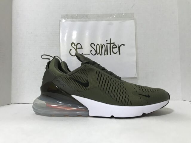 aba8853c99 Nike Mens Air Max 270 Medium Olive Black Ah8050 201 Size 11 for sale ...