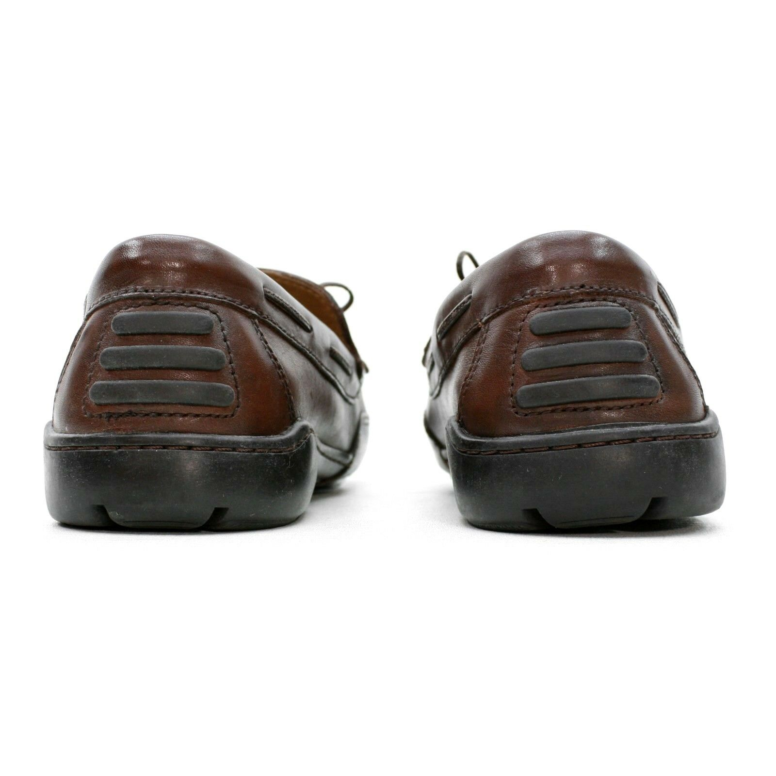 Giorgio Brutini Uomo 12 Tassel M Brown Pelle Moccasin Woven MOC Tassel 12 Kilty Loafers 6e29c9