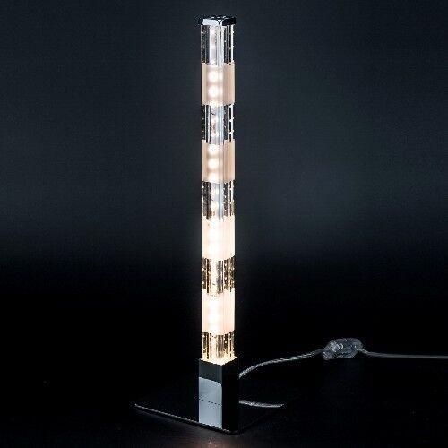 LED Tischleuchte Tischlampe Bambo Glas Lampe Lichtsäule Lichtsäule Sompex 88215