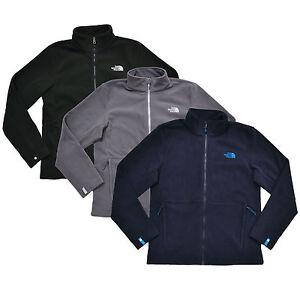 6b3ea9dafef4 The North Face Mens 300 Tundra Fleece Sweatshirt Zip Up Jacket Tnf ...