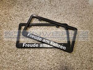 Freude am Fahren BMW Driving Pleasure License Plate Frame