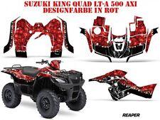 AMR RACING DEKOR KIT ATV SUZUKI KING QUAD LTA 450/500/700/750 GRAPHIC REAPER B