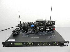 Clear-com Telex C6 Wireless Communication Set (4) TR-800 + BTR-800 + (1) Headset