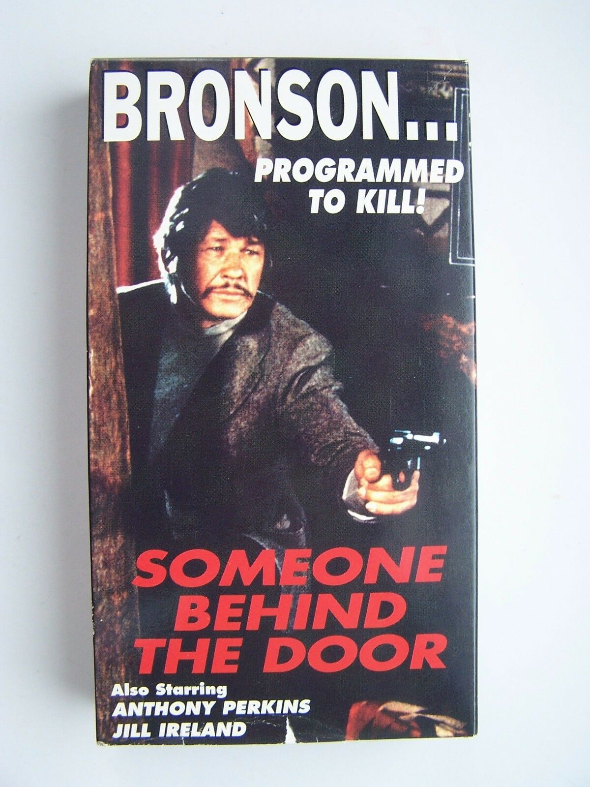 Someone Behind The Door VHS Video Tape Charles Bronson