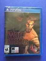 The Wolf Among Us PS Vita NEW