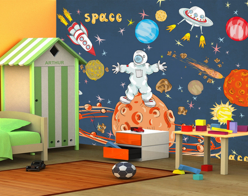 3D Csmos Astronaut 98 Wall Paper Murals Wall Print Wall Wallpaper Mural AU Kyra