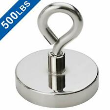 Super Strong Neodymium Fishing Magnets 500 Lbs Pulling Force Rare Earth Magnet