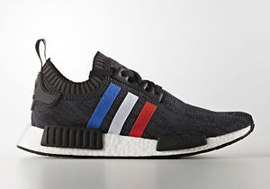 Image is loading Adidas-NMD-R1-PK-Primeknit-Tri-Color-Black-