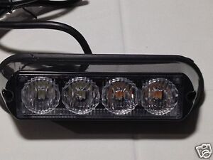 TIR-4-LED-034-LOT-OF-10-PCS-034-Light-Strobe-Warning-034-Video-034-US-Signal-Products-USA