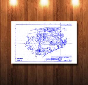 Walt disney world big thunder mountain railroad blueprint 0044 ebay image is loading walt disney world big thunder mountain railroad blueprint malvernweather Gallery