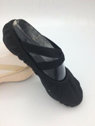 Kerche CK11-B Profi Ballett Schuhe Schläppchen Leinen Splitsohle Tanzen **